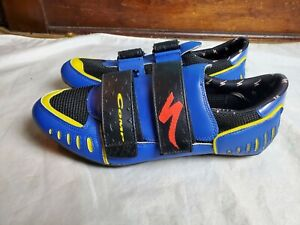 Specialized  Comp MTB Mountain Bike Shoe Blue Yellow Size  EU 47 (13 US)