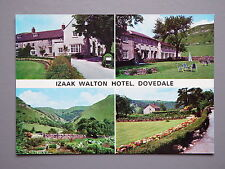 R&L Postcard: Izaak Walton Hotel Dovedale Derbyshire Peak District, AW Bourne