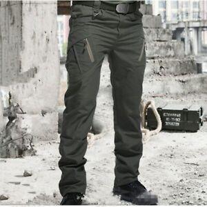 Men Pants Military Men Army Pants Waterproof Wear Resistant Casual Cargo Pants