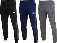 MENS ADIDAS SLIM TAPERED FLEECE TRACKSUIT JOGGING BOTTOMS JOGGERS SWEATPANTS