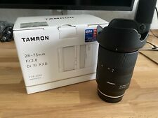 Tamron 28-75mm f/2.8 Di III RXD Lens for Sony E-Mount Full Frame FE A036