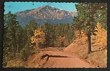 Postcard, Pikes Peak, Colorado