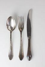 Sobema Besteck Messer Gabel Löffel 100er Silberauflage 18 teilig 6 Personen