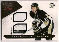 Jordan Staal 10-11 Panini Luxury Suite Dual Game Worn Patch & Prime Jersey /20