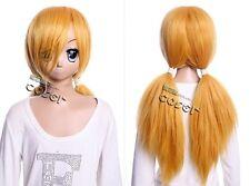 W-496 blond blonde Binbougami ga! Momiji 70cm COSPLAY Perücke WIG Perruque