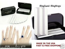 Guard Ring-Bling Guard Bling Wraps for Engagement Wedding Ring Guard.30 Pcs Pack