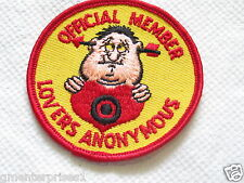 Official Member Lovers Anonymous Vintage Patch ( 037 ) *