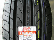 2 New 245/35ZR20 Inch Nankang NS-20 Tires 245 35 20 2453520 R20