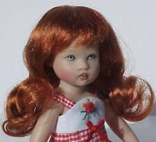 WIG Lizzy CARROT RED Made For Helen Kish Riley Doll (Debs)