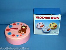 HERITAGE FUN CLUB USA Jim Tammy Faye Bakker Baker KIDDIE BOX Toy Treat Container