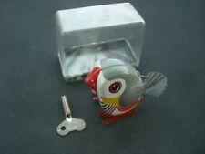 Lehmann Pick Vogel LULI  Blech Spielzeug MINT BOX Original von 1960/ in OVP/grau