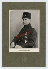 Fliegertruppe Hptm Buddecke Uniform Orden Pelzmütze Abzeichen Wappen Türkei 1916