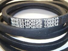 Toro Wheel Horse OEM original 108834  mower deck PTO drive belt - new /unused