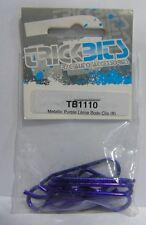 TB1110 Trickbits Coche Parte De Repuesto Morado Metálico Grande Clips De Cuerpo