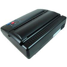 Tattoo Stencil Transfer Flash Copier Thermal Hectograph Printer Machine Black