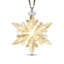 New ListingSwarovski 2020 Festive Gold Annual Edition Large Christmas Ornament 5489192