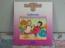 """Teddy Ruxpin """"One More Spot"""" Book.Vintage"""