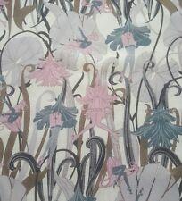 cheeky silk georgette chiffon pink purple grey lilac dressmaking lingerie fabric