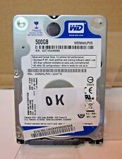 """DISCO DURO SATA WESTERN DIGITAL WD5000LPVX 500GB 2,5"""" WD TESTEADO HDD"""
