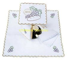EMBROIDERED CHALICE'S  LINEN 15
