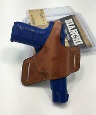 Bianchi 15675 Black Widow Tan Leather OWB Belt Holster,  RUGER P89 P90 P91 - RH