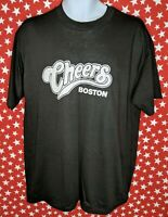 Touch Of Gold Men's Cheers Bar Boston Single Stitch T Shirt XL Vtg 80s USA A295