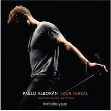 Tour Terral (Tres Noches en Las Ventas) by Pablo Alborán (CD, Nov-2015)