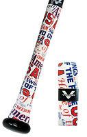 VULCAN ADVANCED POLYMER BAT GRIPS - STANDARD 1.75 MM - TEAM USA