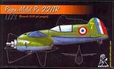 Unicraft Models 1/72 PAYEN MERLOT Pa.22/1R 1935 French Jet Aircraft Project