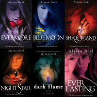 Alyson Noel Collection The Immortals Series 6 Books Set,Everlasting,Shadowland