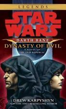 Darth Bane: Dynasty of Evil: A Novel of the Old Republic (Paperback or Softback)