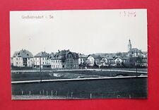 AK GROßRÖHRSDORF um 1910 Ortsansicht mit Kirche  ( 37603