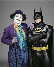 JACK NICHOLSON THE JOKER MICHAEL KEATON 1989 BATMAN 8X10 MOVIE PHOTO