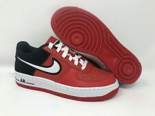 Nike Men's Air Force 1 LV8 Mystic RedWhiteBlack Leather Casual Shoes 12 M US