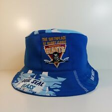 More details for huddersfield giants rugby league bucket hat from upcycled official shirt