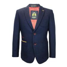 Cappotti e giacche da uomo blu in lana, taglia 54