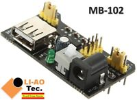 MB102 MB-102 Solderless Breadboard Power Supply Module 3.3V 5V