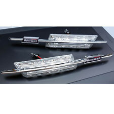 2 CLIGNOTANT BMW SERIE 5 E39 TOURING ET BERLINE 1995-2003 LED MOTORSPORT M CHROM
