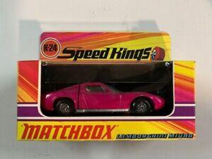 Coche miniatura Matchbox Speed Kings K-24 Lamborghini Miura