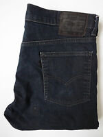 LEVI'S 508 MENS JEANS STRETCH TAPERED LEG W32 L32 STRAUSS DARK BLUE # LEVH124