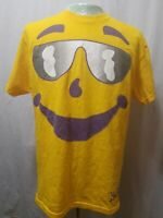Kool Aid Man Vintage 90's T-Shirt Sunglasses Yellow Mens Size Large EUC