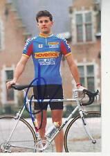 CYCLISME carte cycliste CEDRIC VASSEUR équipe NOVEMAIL 1994 signée