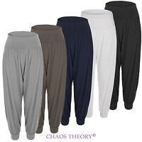 Ladies Womens Baggy Harem Pants Trousers Loose Fit Ali Baba Yoga Hareem Leggings