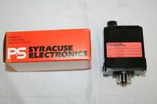 PS Syracuse Time Delay Relay Programmable 115VAC 10 Amps RPCD-303 NOS