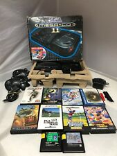 BOXED Sega Megadrive II (2) and Mega CD II (2) with Controller And Games