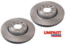 CW Pair Mazda 3 5 Genuine Unipart Front Brake Discs BK,BL OE BP6Y3325XD