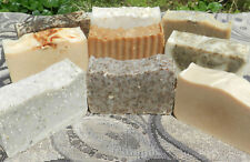 Lard and Lye Big Bar Herbal Soap Selection! 9 Different Soaps. Try Them All!