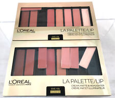 (2) Loreal La Palette Lip Cream Matte & Highlight New & Sealed 03 - Nude
