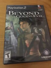 BEYOND GOOD & AND EVIL 1 PLAYSTATION 2 PS2 Brand New