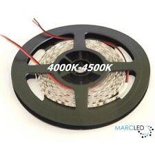 24VDC LED strip SMD3528 120LEDs/m 9.6W/m 4000K-4500K, IP65, 5m (48W, 600LEDs)
